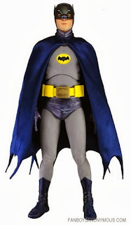Adam West costume 18 inches Black Knight TV NECO toys DC comics