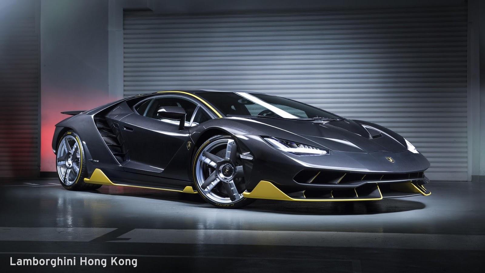 Lamborghini Centenario Reveals Itself In Hong Kong  Carscoops