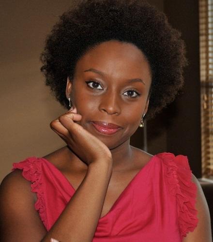 Nigerian author Chimamanda Ngozie Adichie