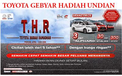 Promo Kredit Toyota Yaris Murah Diskon Lebaran 2018