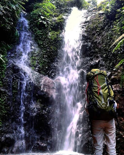 foto curug putri pendaki