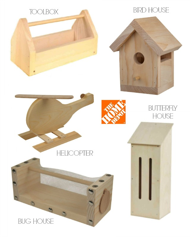 kids workshop kits at The Home Depot