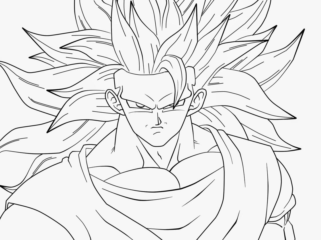 Dibujos De Goku Para Colorear