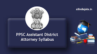 PPSC Assistant District Attorney Syllabus