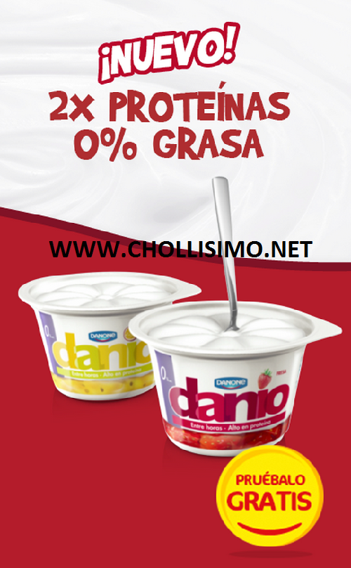 GRATIS Yogures Danio