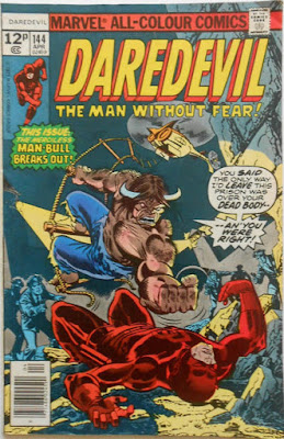 Daredevil #144, the Man-Bull