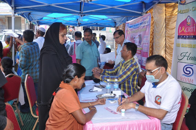 Marwari Yuva Manch Organizes Cancer Detection Camp in Wilson Garden
