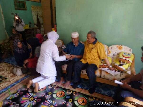 Kampung Kalong Hilir: Program Jom Turun Kampung PPPNS - Rumah Encik Zaral Gaffar & Puan Siti Mariam