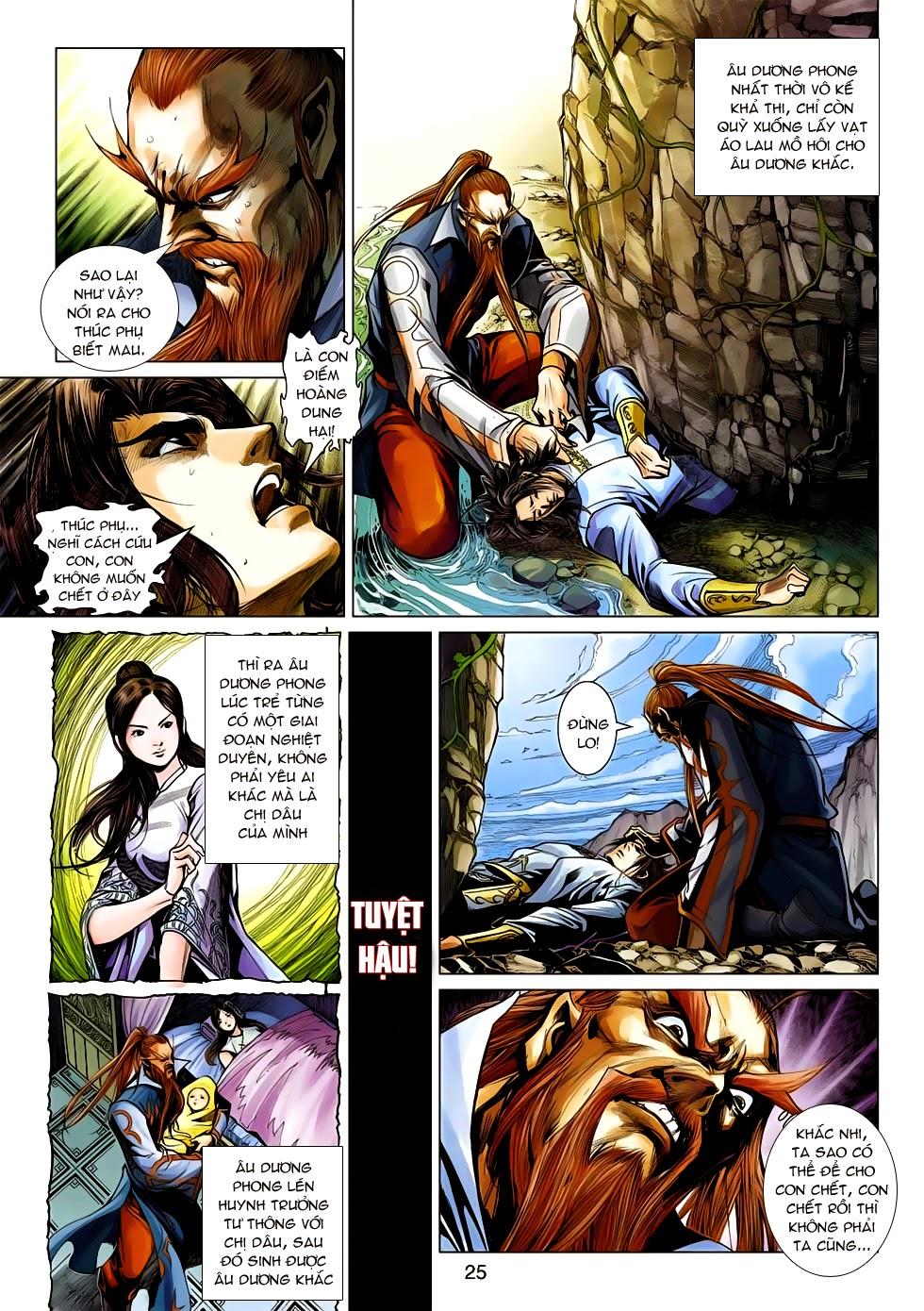 Anh Hùng Xạ Điêu anh hùng xạ đêu chap 54: kiếp hậu dư sinh thiến nữ kỳ mưu trang 25