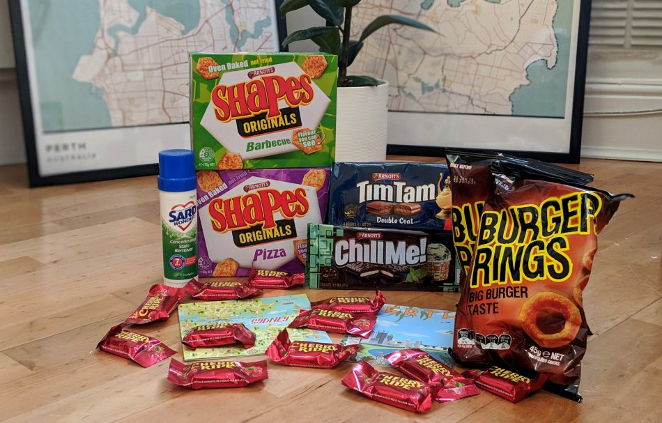 Expat Update Return to UK from Australia - Missing Australian Snacks