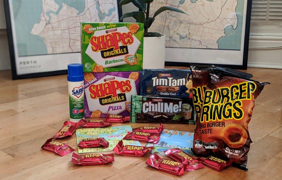 Expat Update Return to UK from Australia - Missing Australian Snacks