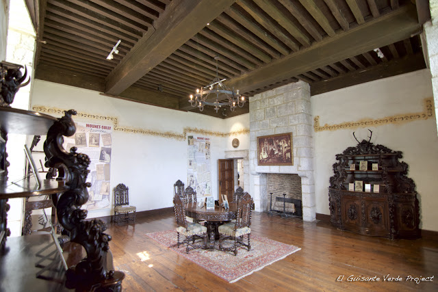 Interior Château de Monbazillac - Dordoña Perigord por El Guisante Verde Project