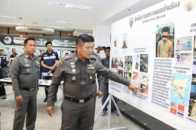 Romance Scam: Two Nigerian nationals arrested in Bangkok for posing as rich Europeans to defraud women on social media (photos)