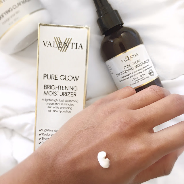Reviewing Beauty: Valentia Pure Glow Brightening Moisturizer