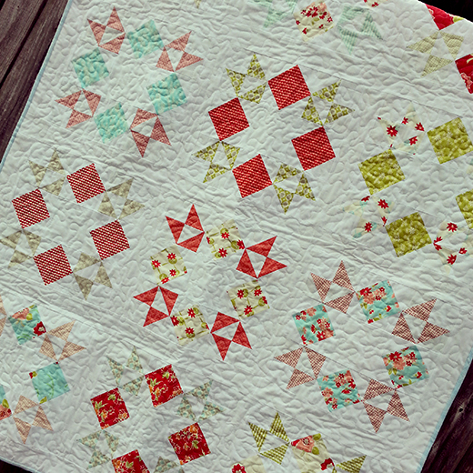 Stacks of Stars Quilt Free Tutorial