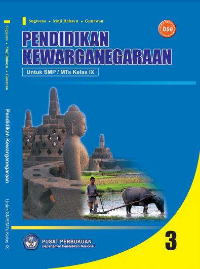 Download Buku Siswa KTSP SMP dan MTs Kelas 9 Pendidikan Kewarganegaraan