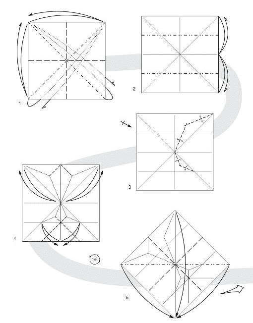 Below Is A Diagram Of The Butterfly Assemblage Colored Paper In Origami Technique It Can Turn Nice Tab For Books As Well Original