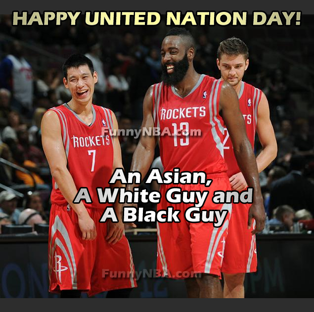 Jeremy Lin , James Harden And