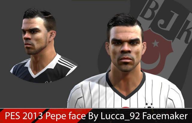 Pepe Face PES 2013