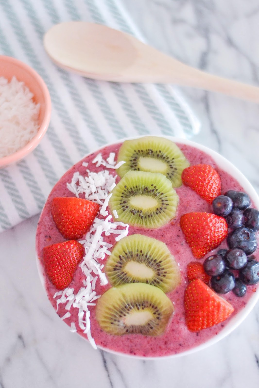 acai bowl recipe without acai powder