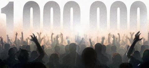 Resultado de imagem para 1000000 de acessos