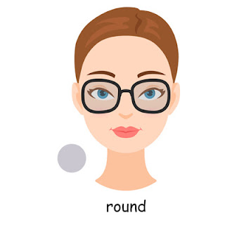 round face shape glasses
