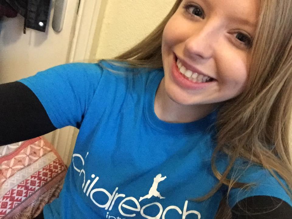 childreach international, barefoot day, sponsor me, fundraising, charity, selfie