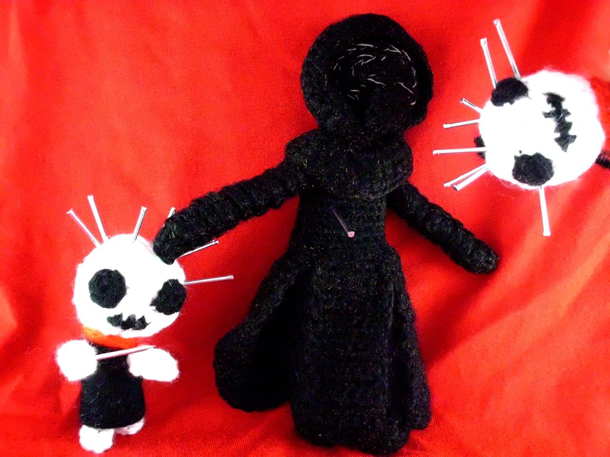 Halloween Voodoo Puppe Im Schocktober
