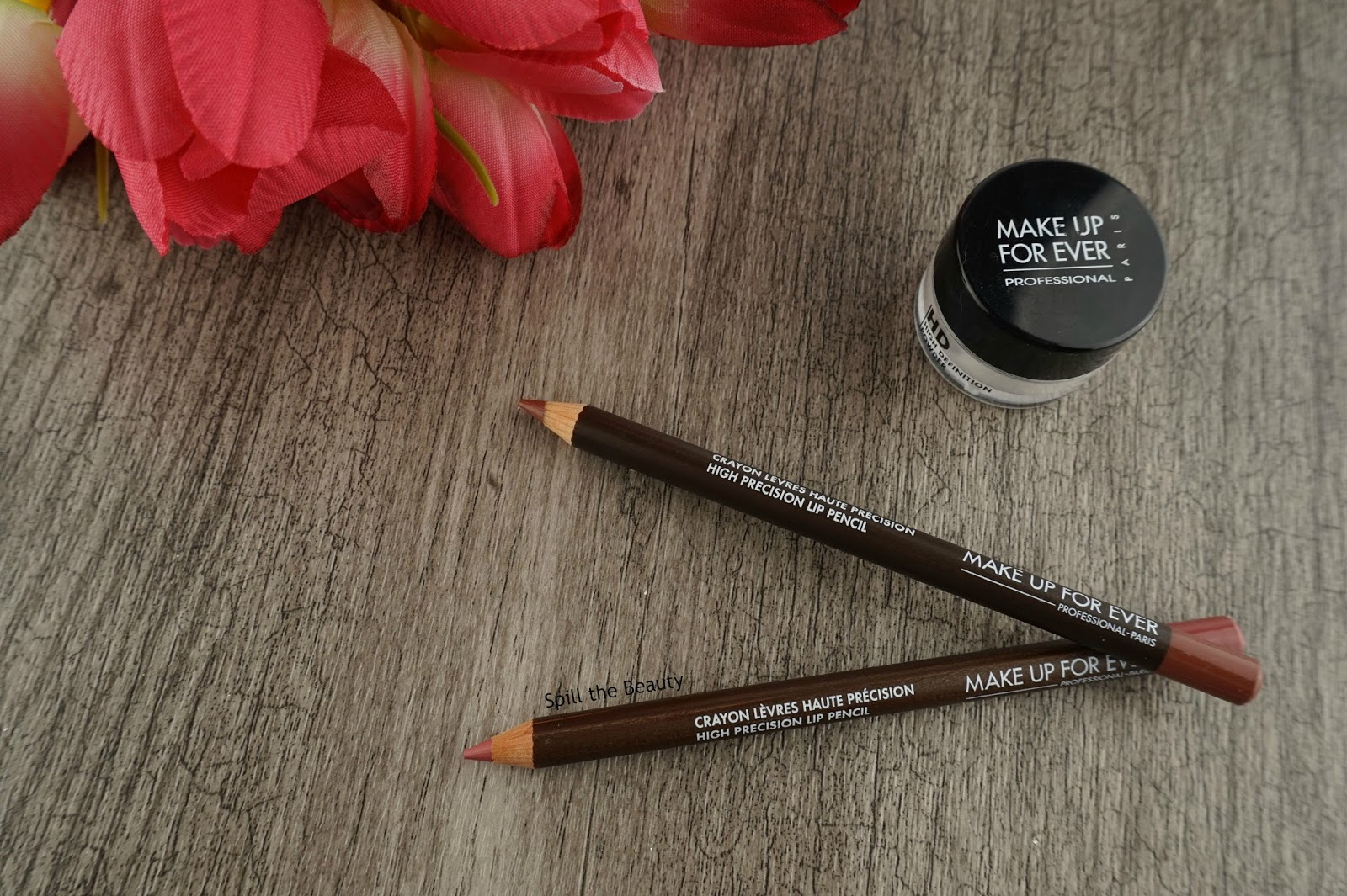 MAKE UP FOR EVER High Precision Lip Pencil – Review, Swatches, Looks