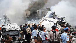 5 Kecelakaan Pesawat Terdasyat Dengan Korban Terbanyak di Indonesia