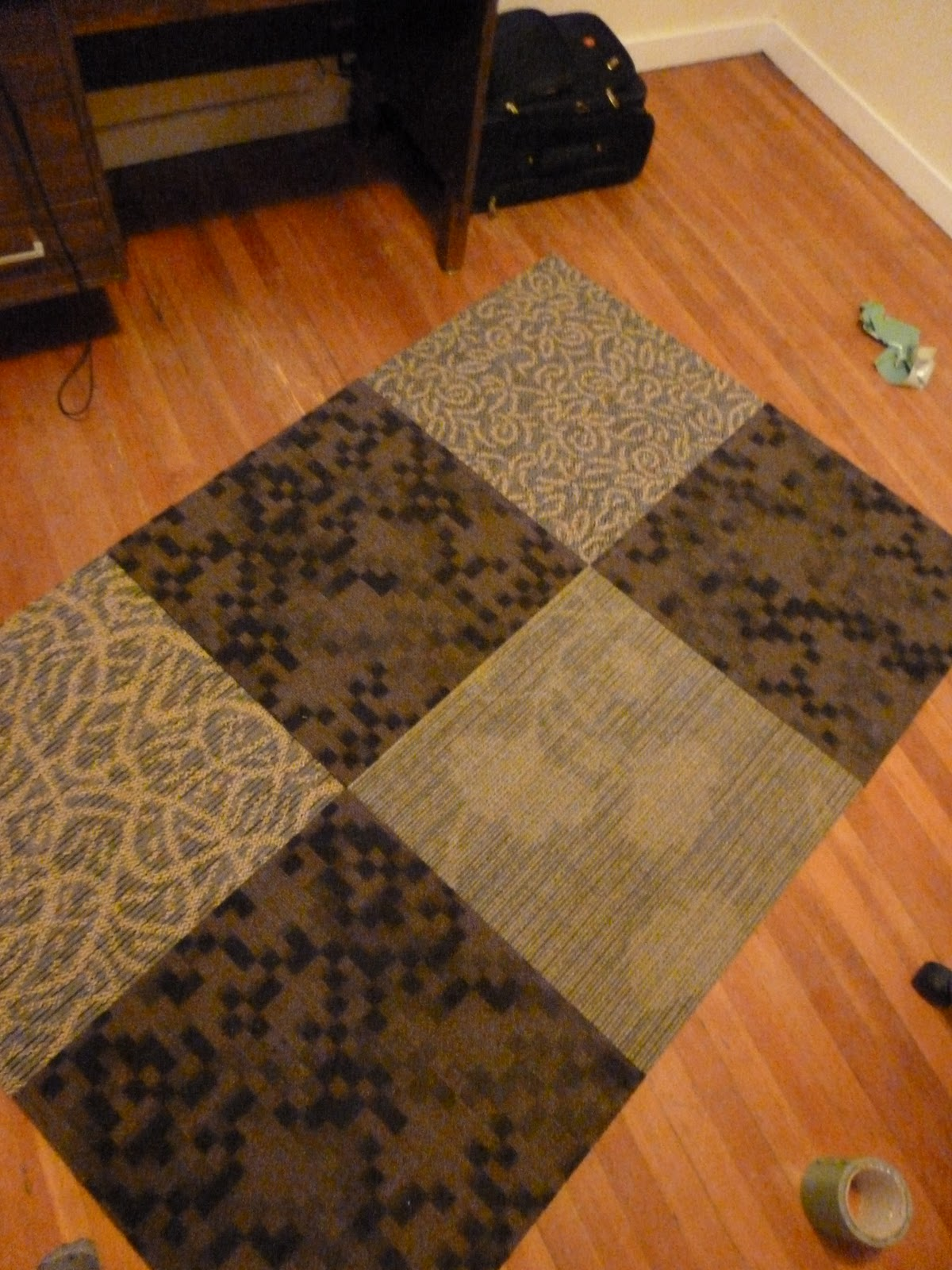 Beautiful Creations by Bece: DIY Area Rug (on the cheap)