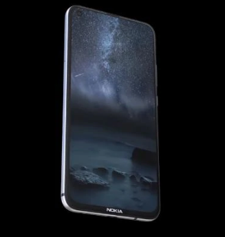Nokia 6.2 (2019) realistic design with punch-hole display concept video reveal