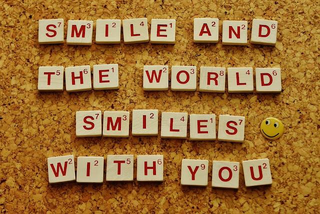 pensée positive développement personnel smile sourire