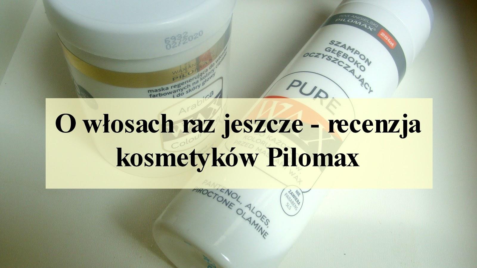 Szampon i maska Pilomax