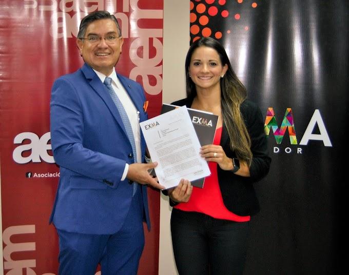 Mejores escenarios de formación de alto nivel son los objetivos de EXMA Ecuador y la Asociación Ecuatoriana de Marketing