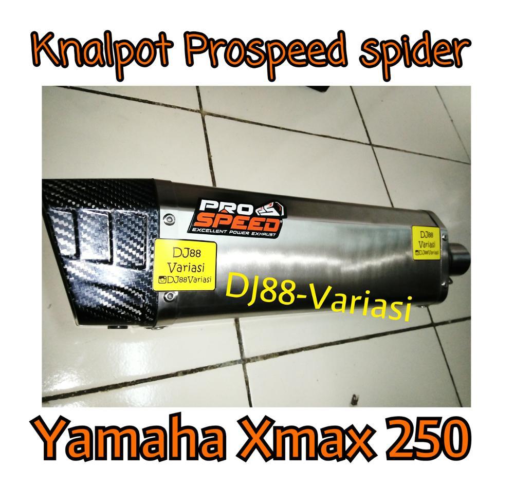 Dj88 Variasi Toko Aksesories Terlengkap Dan Terpercaya Se Indonesia Knalpot Prospeed R25 Mt25 Mf Series Fullsystem Black Chome Original Spider Yamaha Xmax 250 Carbon Racing