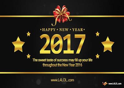 New Year 2017 Fireworks