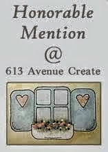 2 x 613 Avenue Create Honorable Mention