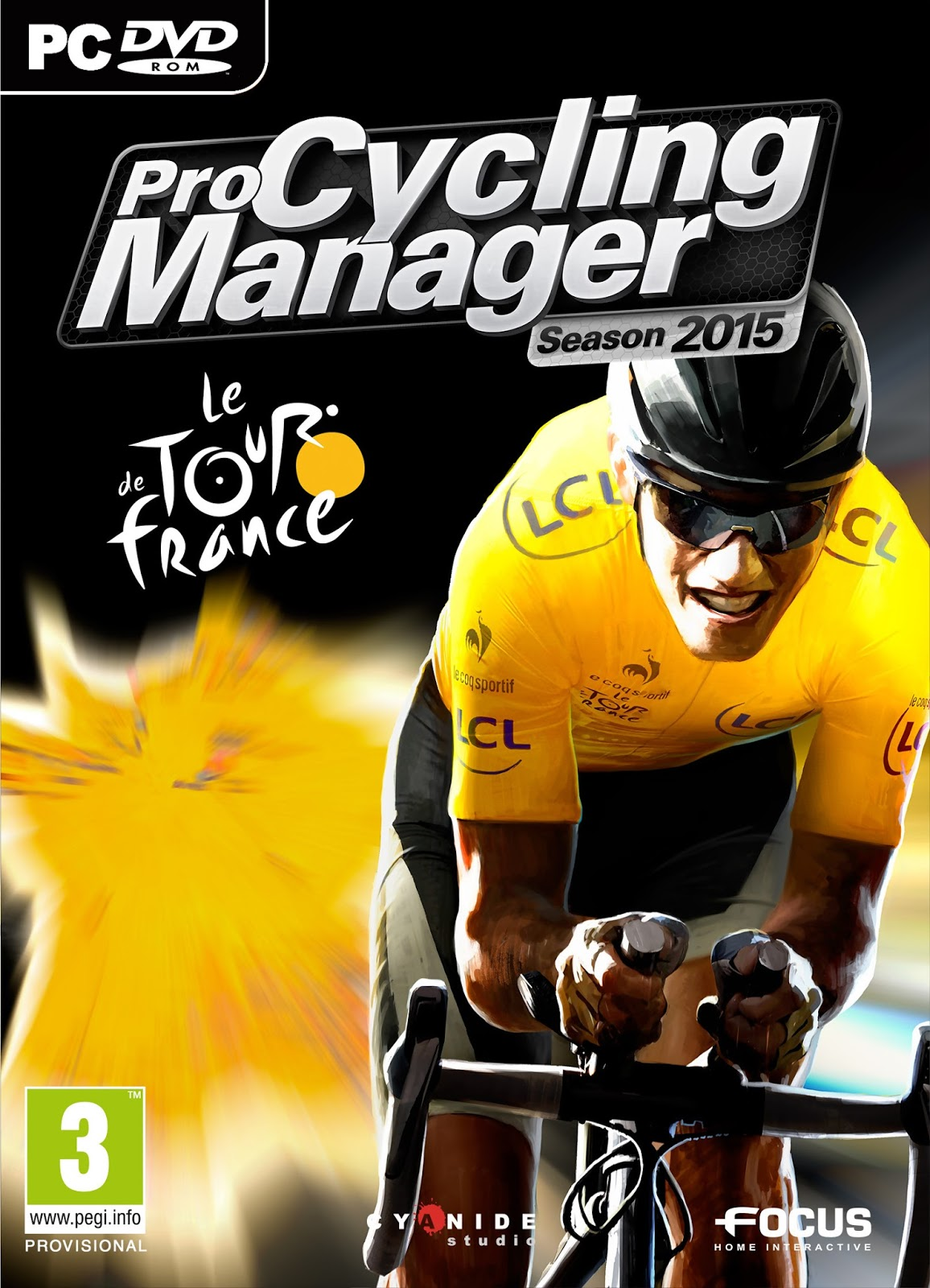 Pro Cycling Manager 2015 ESPAÑOL PC Full Cover Caratula