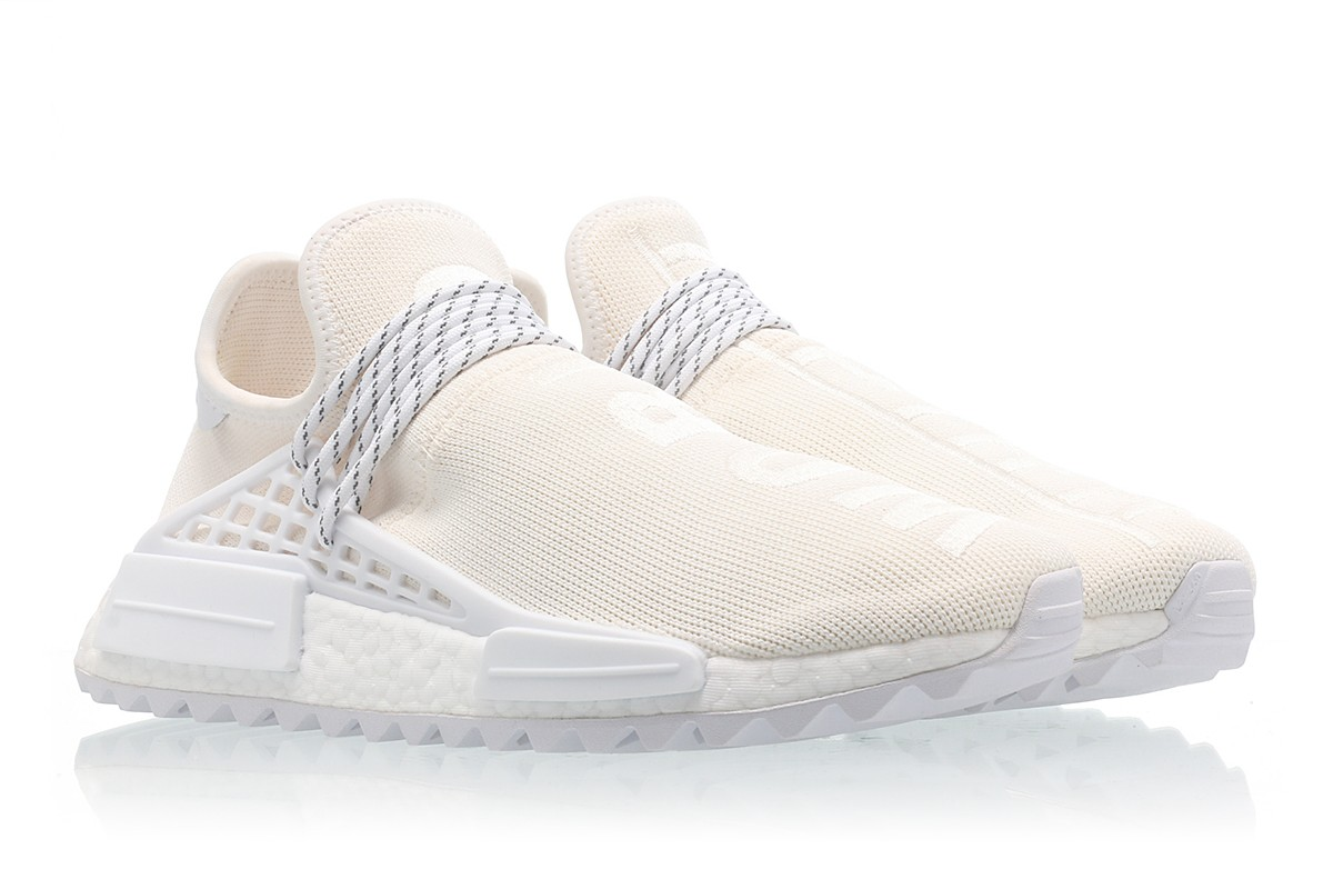 SWAG Mania: First Look: Pharrell x Adidas NMD Hu Trail lienzo en blanco