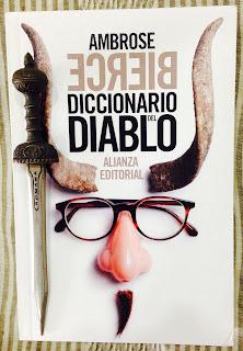 Portada del libro Diccionario del diablo, de Ambrose Bierce