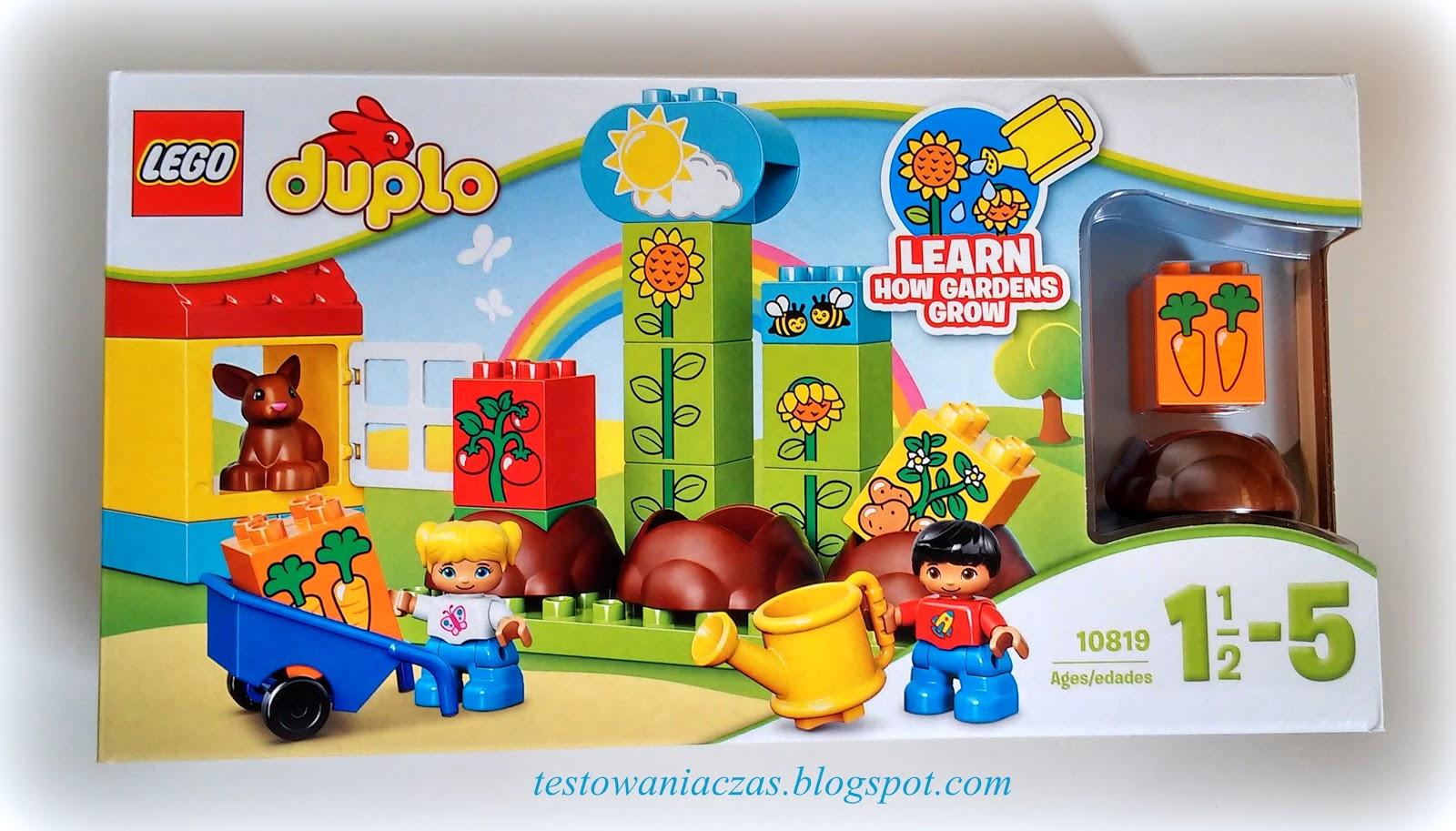 Recenzja Klocki Lego Duplo 10819 Mój Pierwszy Ogród