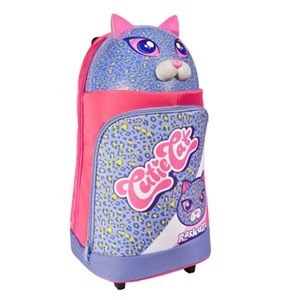 Raskullz Cute Cat Rolling Luggage