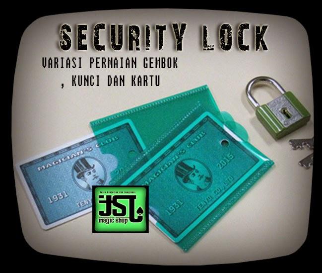 toko sulap jogja SECURITY LOCK Tenyo