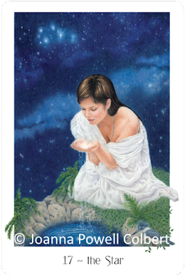 Gaian Tarot The Star.