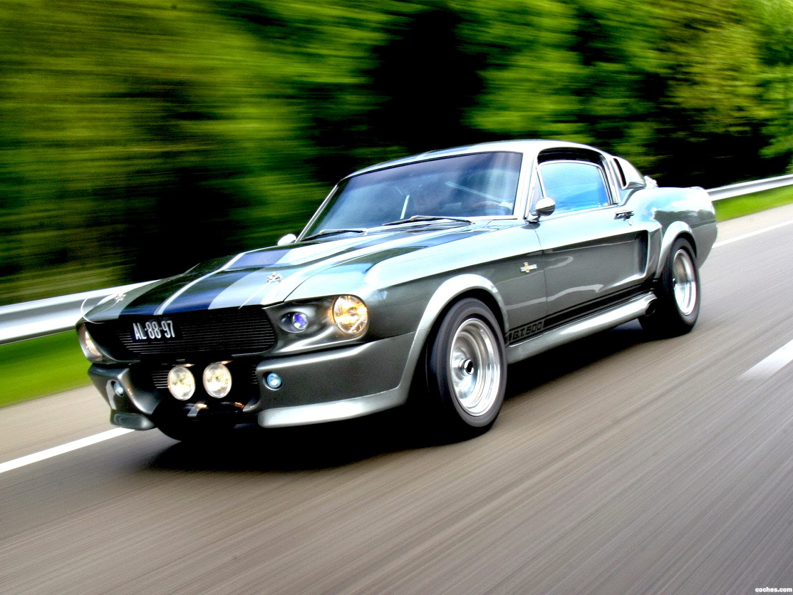 "Gt500 Mustang 2015 >> 1967 For Mustang GT500 Eleanor on ""Gone in 60 Seconds"" movie"