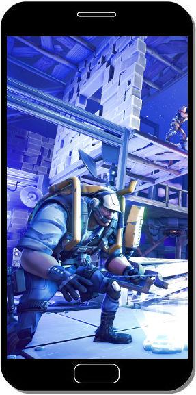 Fortnite Battle Royale Armure Cage - Fond d'Écran en QHD pour Mobile