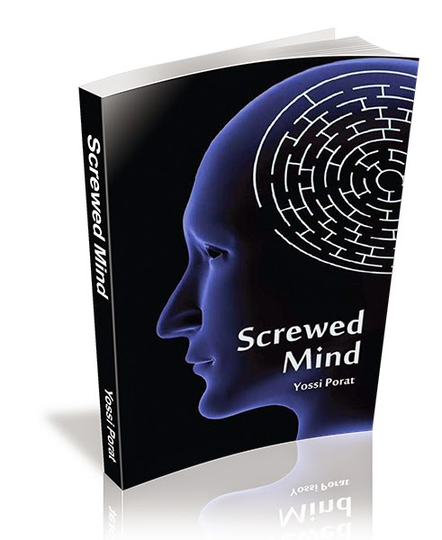 screwed mind, Yossi Porat, Spy Thriller, Espionage thriller, International intelligence, novel