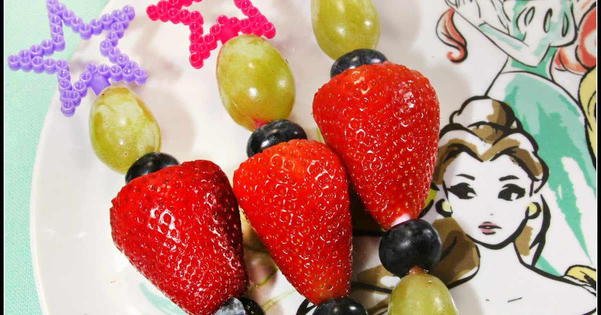 For the Love of Food: Princess Fruit Wands and Mother's ...