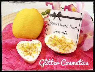 Sorrento - Glitter Cosmetics Candle